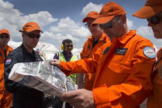 Het Nederlandse hulpteam USAR in Kathmandu