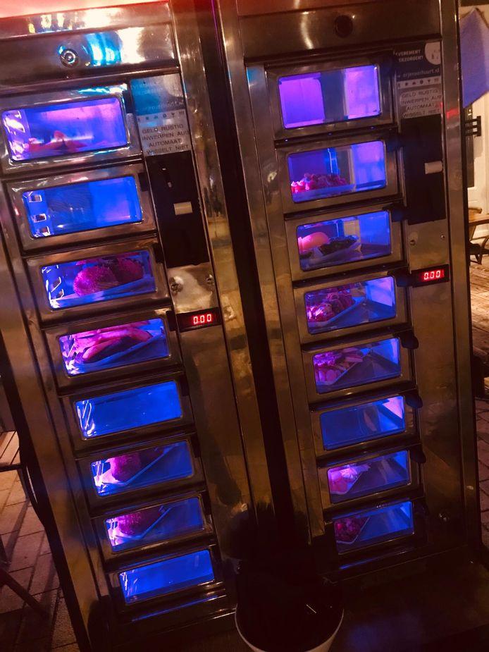 De stijlvolle snackautomaat.