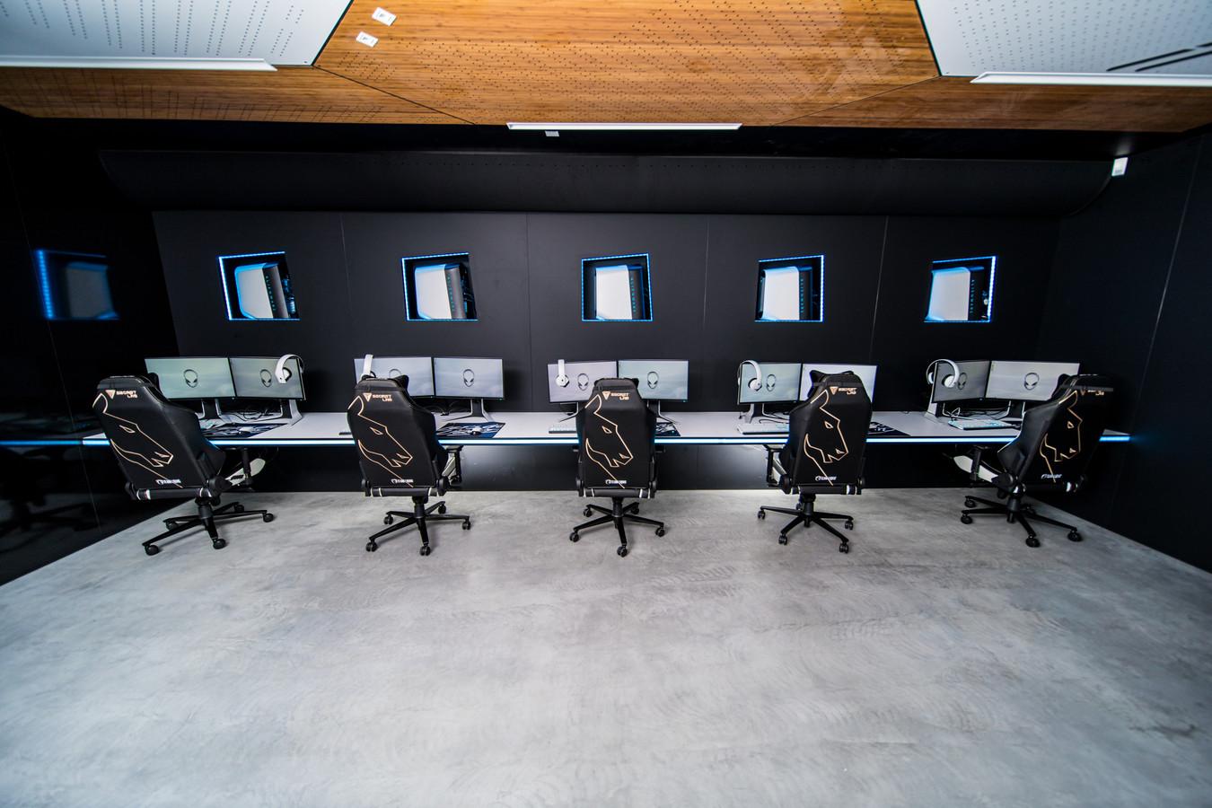 In de Alienware Training Facility kunnen spelers van Team Liquid in een optimale omgeving trainen voor esportswedstrijden.