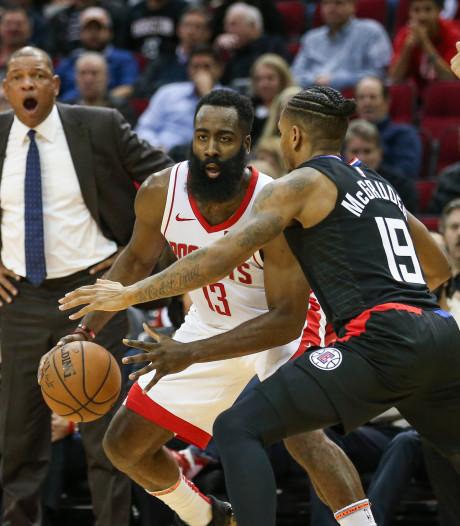 Harden leidt Rockets naar winst, Lakers denderen door