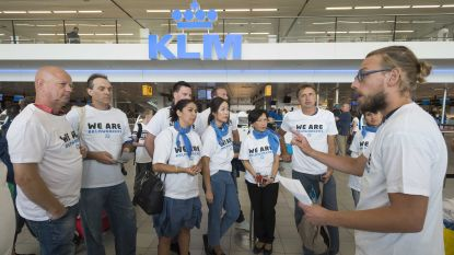 Grondpersoneel KLM legt maandag werk neer: staking kan tot overlast leiden