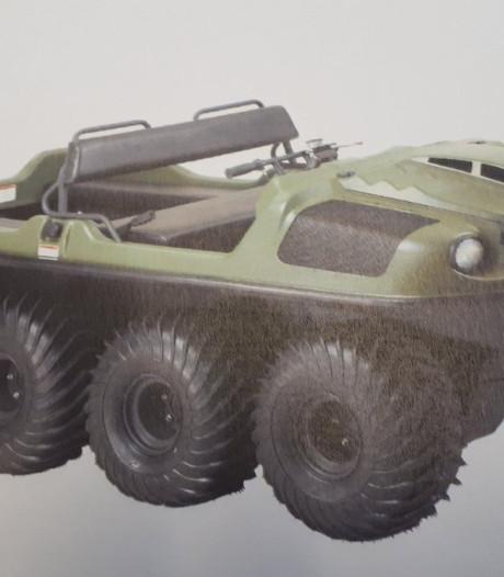 Van wie is toch dat gestolen amfibievoertuig in Wapenveld?