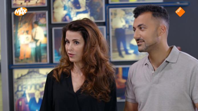Caroline de Bruijn en Özcan Akyol.