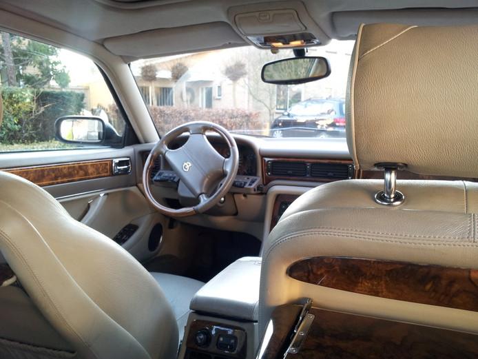 Interieur van de Daimler