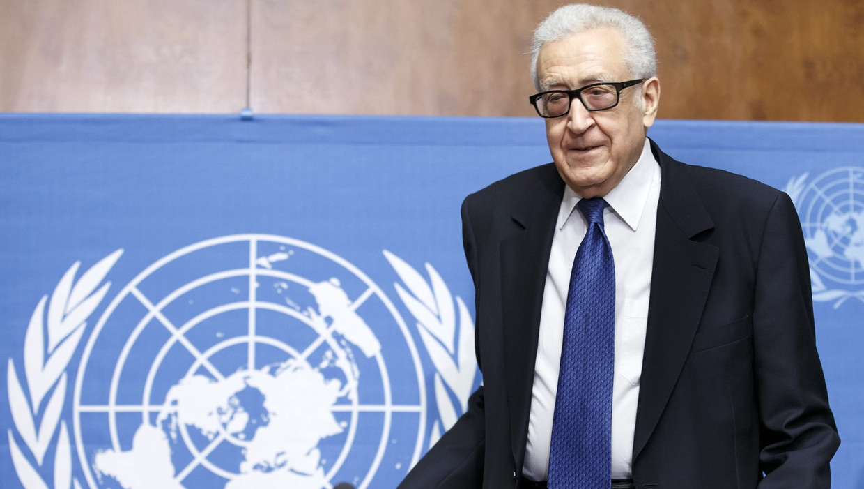 Syrië-bemiddelaar Lakhdar Brahimi Neemt Ontslag