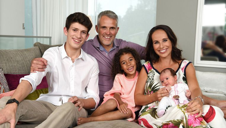 Het nieuw samengesteld gezin van Ann Van Elsen