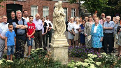 Mariabeeldje aan Magdalenakerk is gerestaureerd