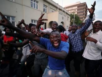 Zimbabwe feest na ontslag Mugabe