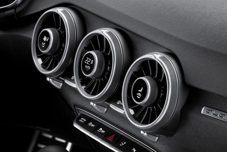 Airco van de Audi TT