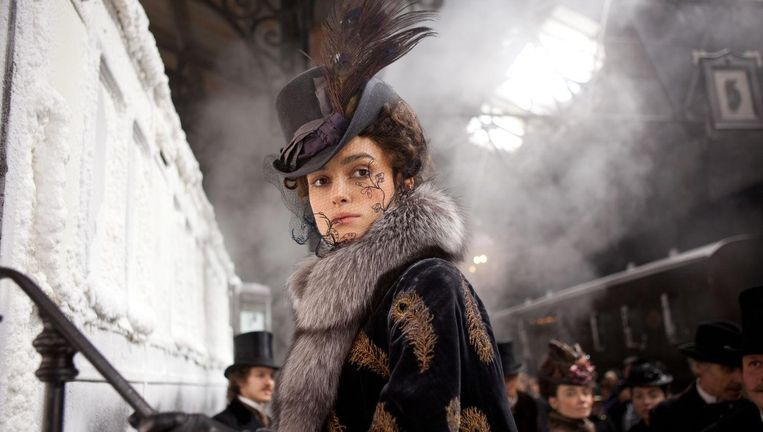 Keira Knightley in Anna Karenina Beeld