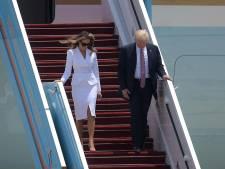 Quand Melania Trump met un vent à son mari