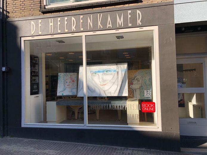 Heerenkamer kapper Houtstraat Nijmegen