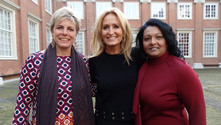 Ook geportretteerd: prinses Laurentien, Natasja Froger en Sunita Chote, die depressieve meisjes helpt: 'Het is stoer om een andere vrouw in haar kracht te zetten' Beeld Hans van der Beek