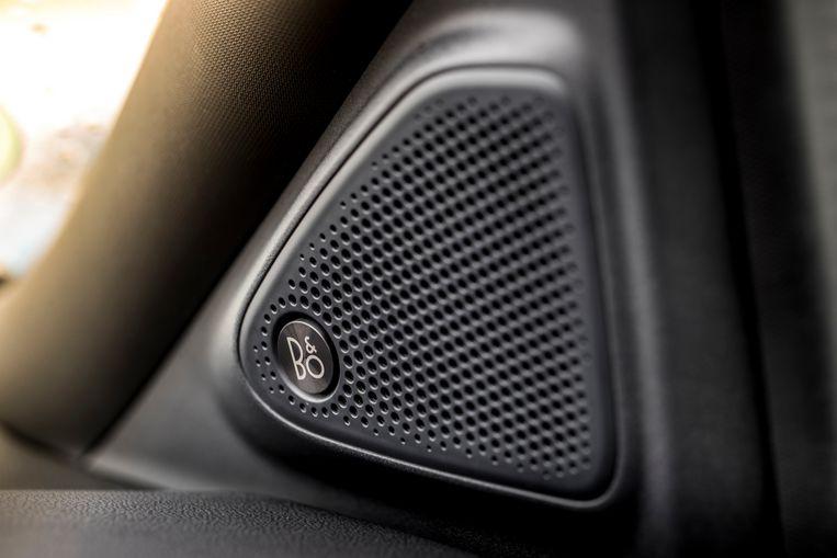 Slimme combi: een stille cabine met een voortreffelijke geluidsinstallatie. Beslist aanvinken die optie. Beeld