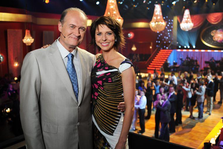 Francesca Vanthielen en Jacques Vermeire presenteerden samen 'Sterren op de Dansvloer'. Nadien werd Jacques vervangen door Kürt Rogiers.