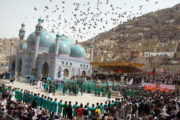 Nowruz-viering in Afghanistan. Beeld null