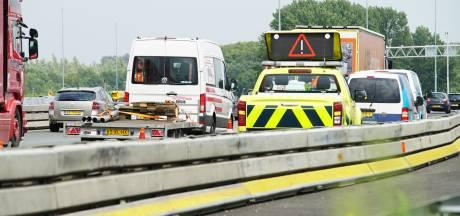 Forse file op A1 door ongelukken bij Deventer en Lochem
