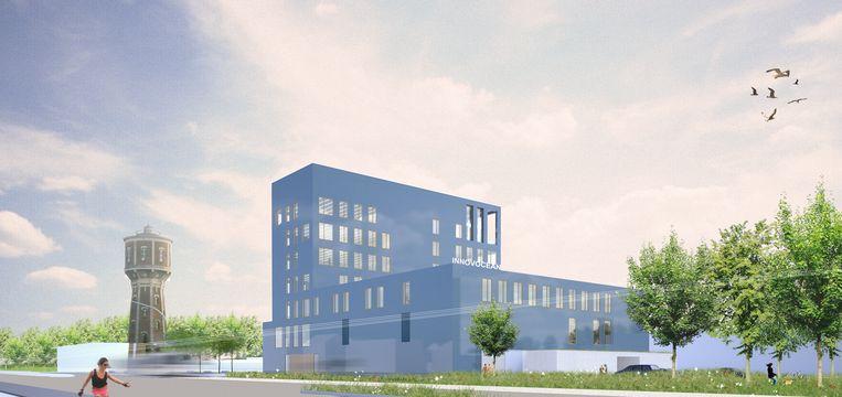 Zo zal de campus InnovOcean eruitzien op de Oosteroever.