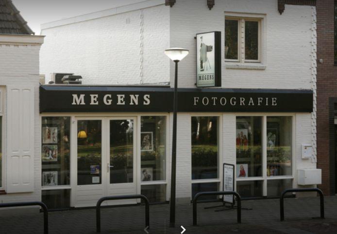 Megens Fotografie aan de Kromstraat in Oss.