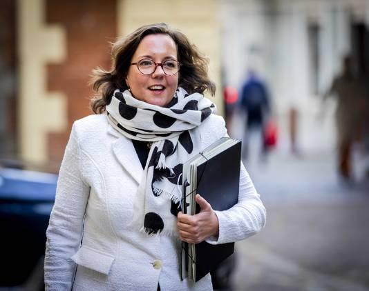Minister van Sport Tamara van Ark