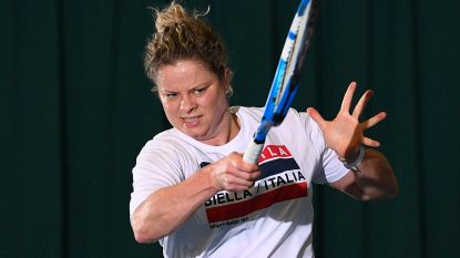 Clijsters luxesparringpartner in Fed Cup