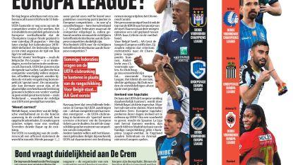 Moet Club naar Europa League?