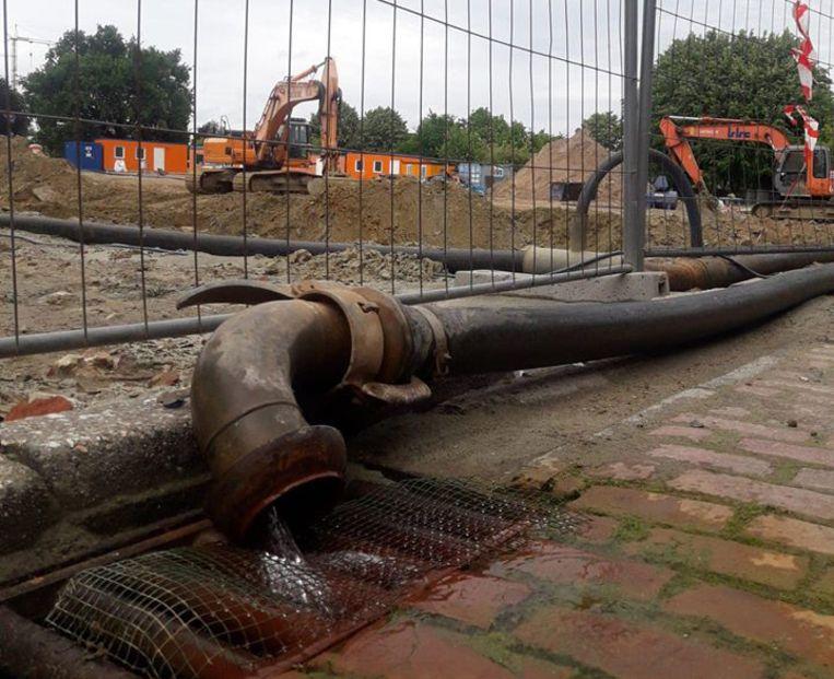 Opgepompt grondwater verdwijnt nog vaak gewoon in de riolering