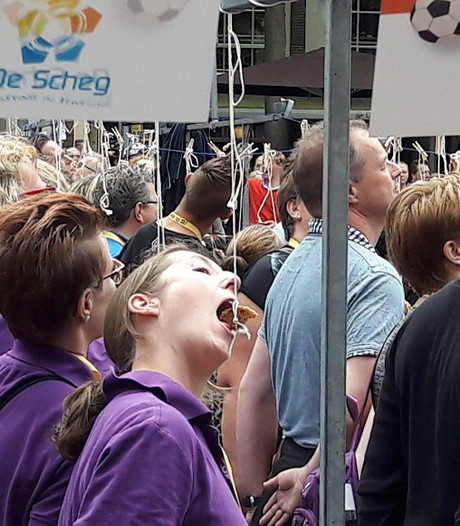 Deventer verpulvert record koekhappen