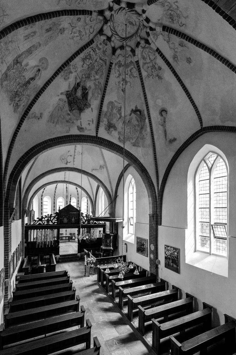De Janskerk Huizinge, Groningen Beeld Jeroen Taalman