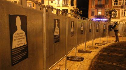 Activisten vragen op Brusselse verkiezingsborden aandacht voor mensen zonder papieren
