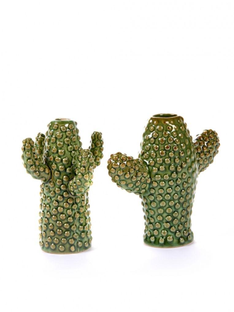 Keramieken cactus small (Serax, € 14,45)