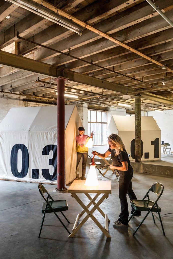 Pop-up Hotel To may places in de Mengfabriek