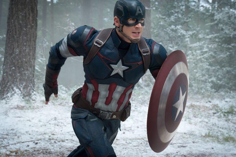 Chris Evans als Captain America/Steve Rogers in 'Avengers: Age of Ultron'.