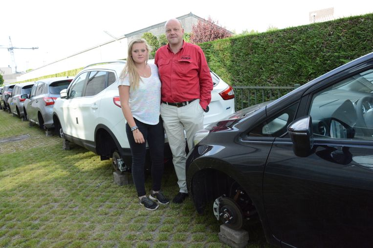 Dieven nemen bij 11 auto 39 s wielen weg temse regio hln - Garage nissan villeneuve d ascq ...