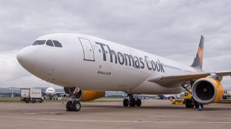 Met Thomas Cook wordt niet meer gevlogen.