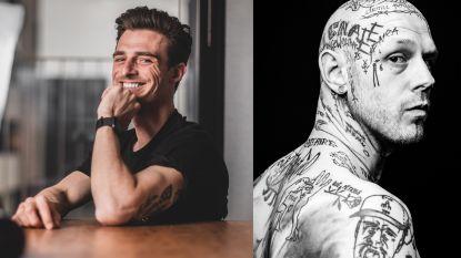 """Joakim portretteert mensen met tattoo's op gezicht: """"Het is even schrikken als je ze ziet, maar het zijn stuk voor stuk schatten"""""""