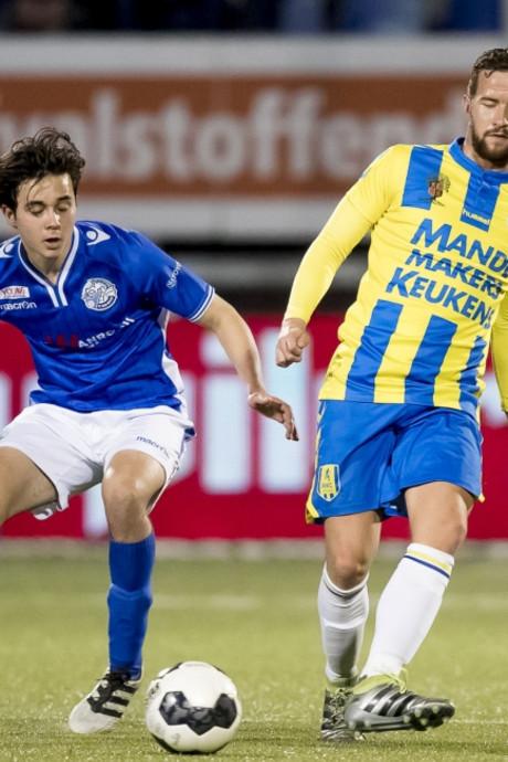 Late strafschop zorgt voor 1-1 bij derby tussen FC Den Bosch en RKC Waalwijk