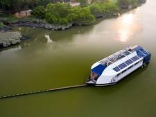 Zwols bedrijf TME maakt apparaat dat rivierafval opveegt voordat het de oceaan bereikt