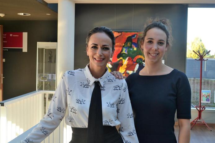 Anja van Hirtum-Smits en Roxanne van den Boogaard.