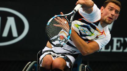 Joachim Gérard wint Masters rolstoeltennis voor de derde keer