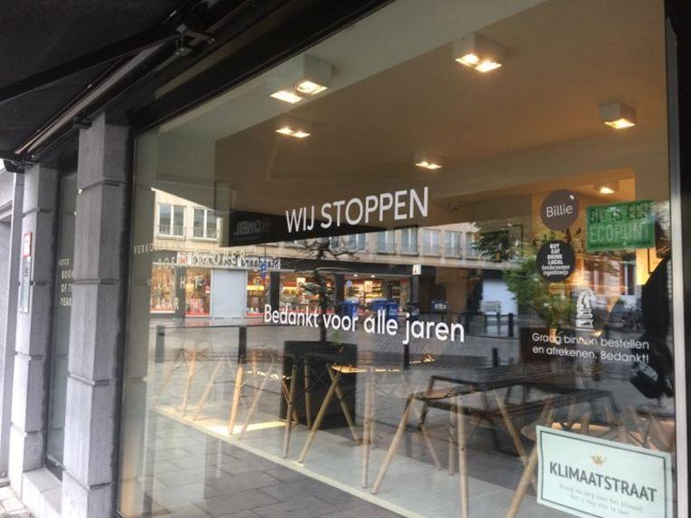 Boekhandel Paard van Troje in Gent kondigde vandaag aan te stoppen.