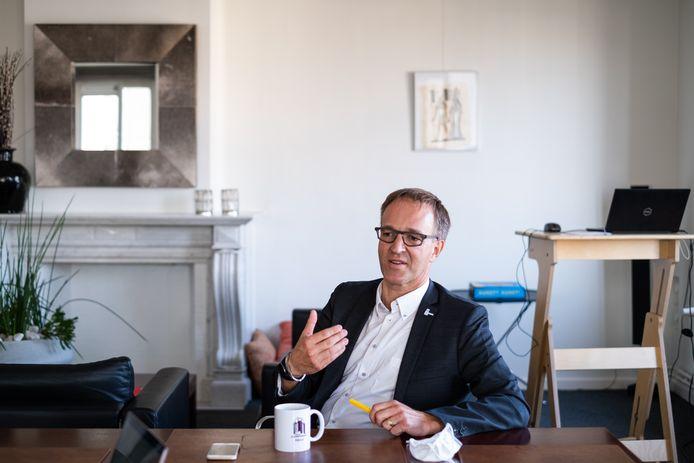 Rik Van de Walle, rector van UGent.