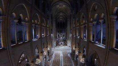 Dronebeelden uit 2018 tonen hoe indrukwekkend Notre-Dame was