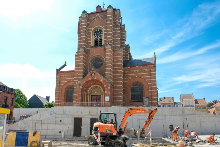 Archiefbeeld Sint-Clemenskerk.