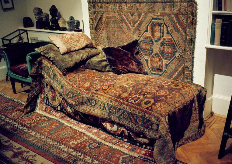 Het is Freuds laatste woonhuis nadat hij voor de nazi's was gevlucht. Beeld HH/Sijmen Hendriks