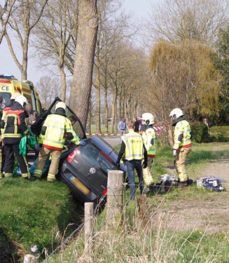 Traumahelikopter landt voor ernstig ongeluk in Putten