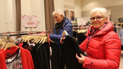 Rustige start van eerste koopjesdag in Zandstraat