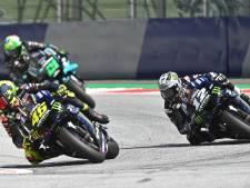 Rossi ontsnapt aan horrorongeluk als motor voor zijn hoofd langs vliegt