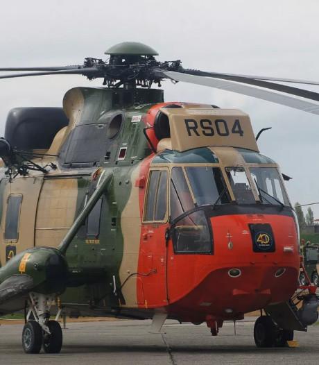 Deutsche Sea King helikopter weer naar Rescue Vlissingen