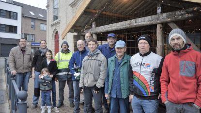 KWB bouwt opnieuw kerststal op Mercatorplein